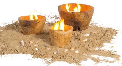 Kerzenschalen 3er Set