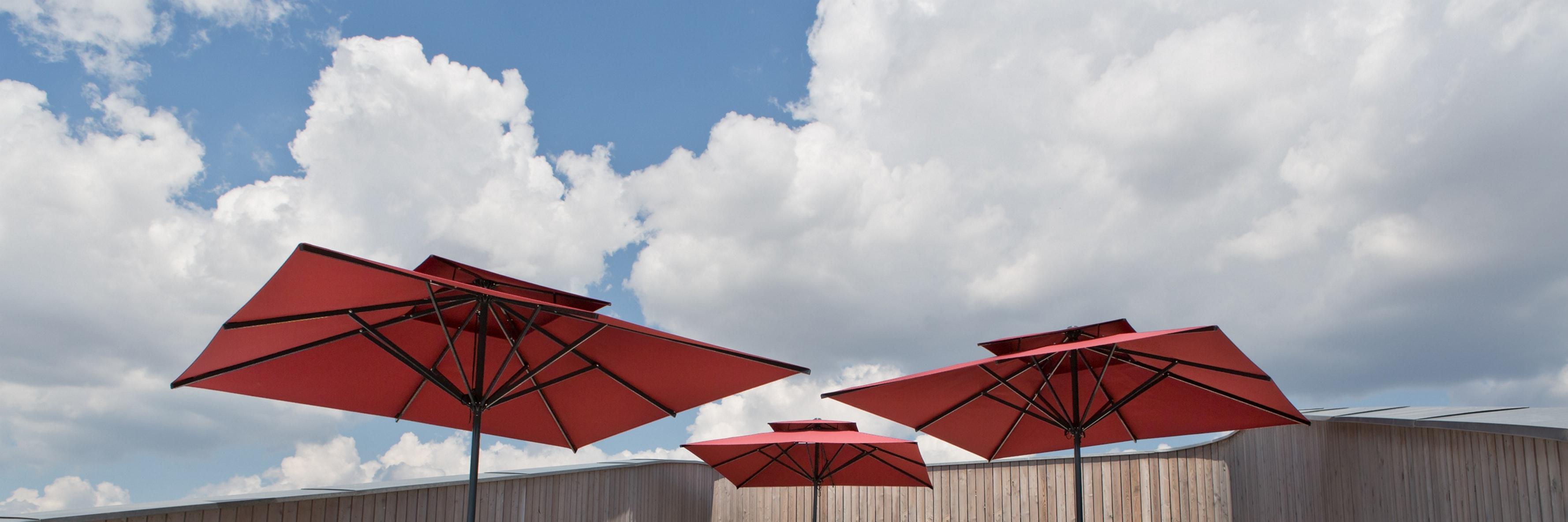 PRIMUS Sonnenschirme mit Winddach