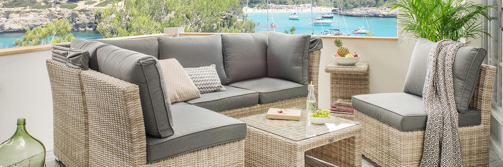 ARUBA Lounge Set mit Kissen