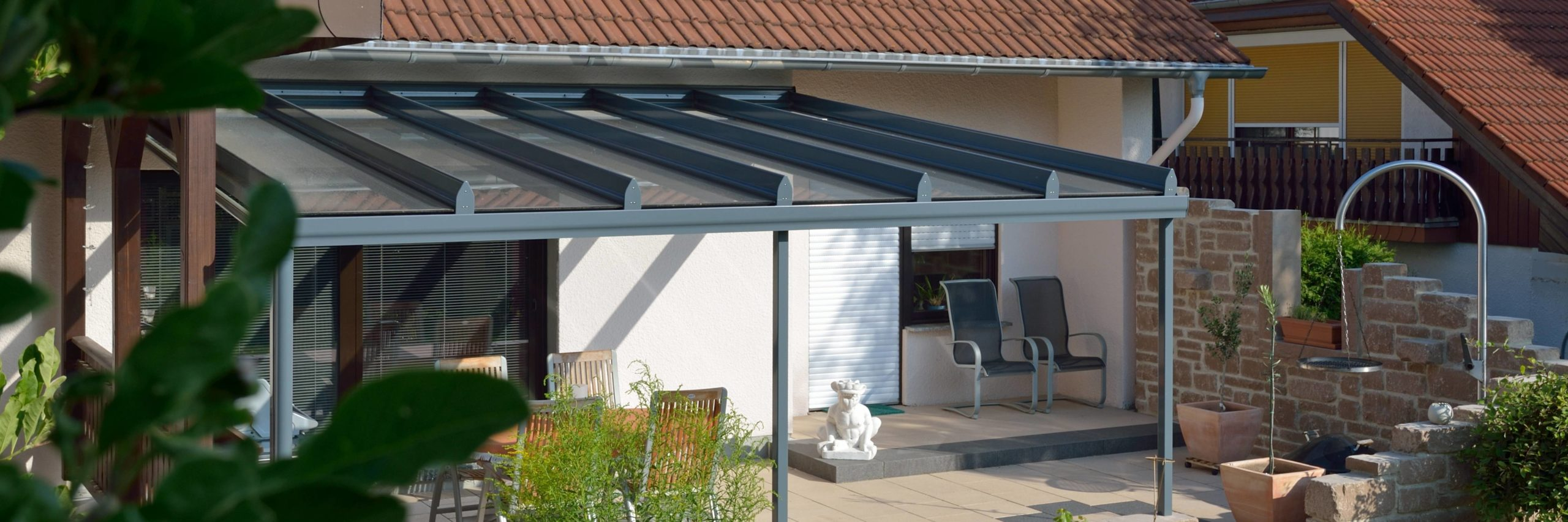 Toskana-Design Terrassendach