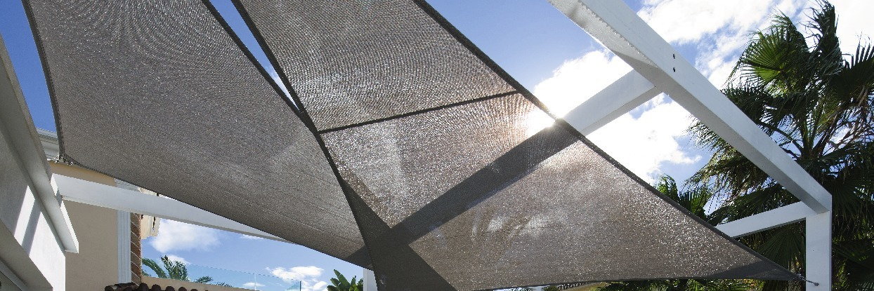 Segel in Outdoor-Material